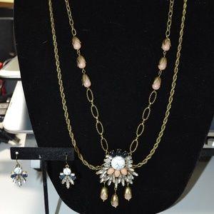 Chloe & Isabel Morningtide Necklace + Earrings
